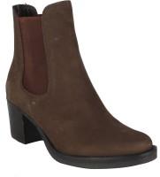 Salt N Pepper 14-393 Juliet Brown Suede Boots Boots