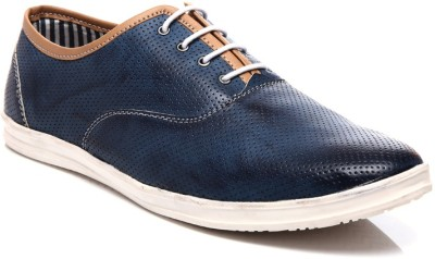 Juandavid 0058-Blue Casual Shoes