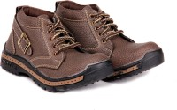 Do Bhai Woodshoe-brown Boots Boots