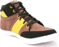 TheWhoop Mens Premium Brown Casual Shoe Sneakers