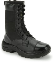 Benera JUMBO BLACK HIGH ANKLE BOOT Boots