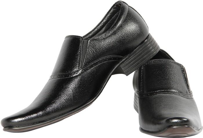 Swagger Leather Slip On Shoes - SHODQZ6TTAHHHUHF