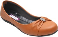 Port Ladies Brown Bellie Casual Shoes(Bellies) For Women's(Brown) Brown