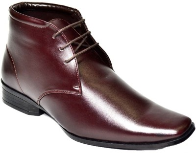 Senso Vegetarian Ankle Length Mens Lace Up Shoes