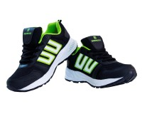 Beerock Beta Running Shoes, Walking Shoes, Cricket Shoes, Training & Gym Shoes Black, Green