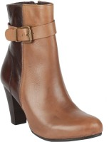 Salt N Pepper 14-349 Fancy Taupe Brown Boots Boots