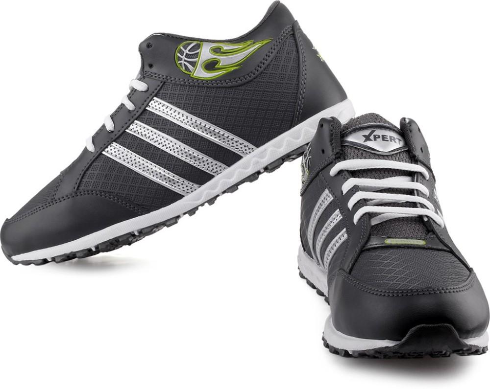 Xpert Jupiter 1 White Grey Running Shoes