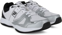Fila NOVARO LT Tennis Shoes Black, Silver, White