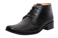 Zoom Zoom Men's Pure Leather Formal Shoes G-71-Black-10 Lace Up