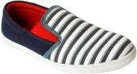Promenade Leisure Stripe Canvas Shoes