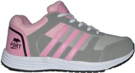 Port Women Pink Turbo Sports Running Shoes