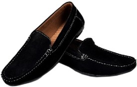 Fashion Zone Black Loafers
