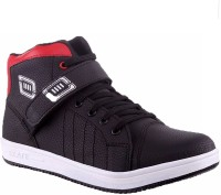 Allen Cate Red Black Sneakers Shoes Sneakers Black