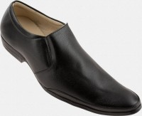 Zapatoz Black Office Slip On