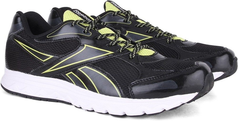 Reebok UNITED RUNNER 50 Men Running Shoes Black Green White SHOEGGX7FZHYGCNJ