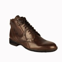 Salt N Pepper Ray Brown Mid Ankle Boots