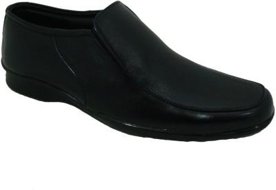 Senso Vegetarian Mens Black Slip On Shoes