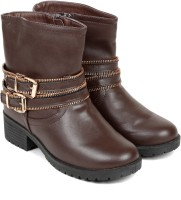 TEN Brown Leather Boot Boots
