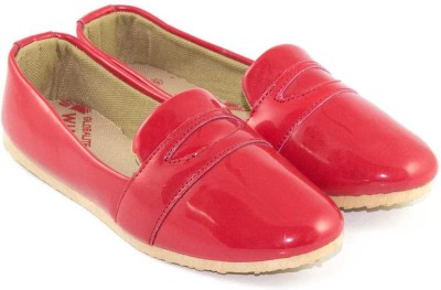Globalite Globalite Pattent Red Casual Shoes