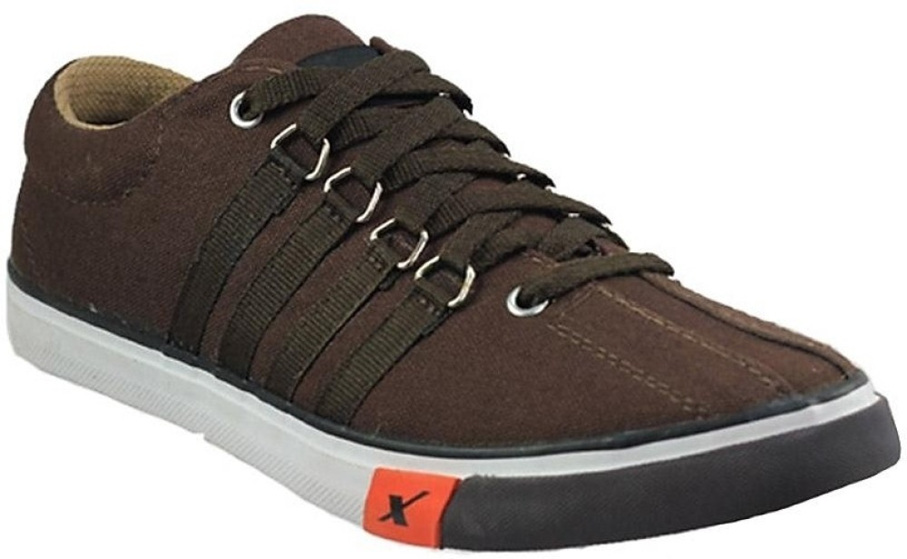 Sparx Sporty Canvas Shoes Black SHOEFUSZ5AVYNNCR