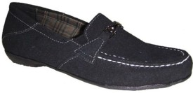 Senso Vegetarian Shoes Ladies Black Casual Loafers