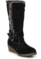 Stylistry Black Color Boots - SHOEFHQ4NTZFARE5