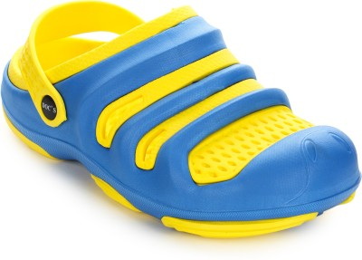 Arre Baba Crocks Yellow Blue Clogs