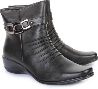 Do Bhai 978-634-Black Boots Boots