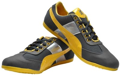 Guardian Yellow and Grey Sneakers