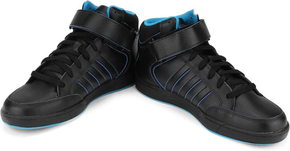 Adidas VARIAL MID Men Skateboarding Shoes Black Blue