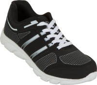 Zovi Black With White Accents Running Shoes