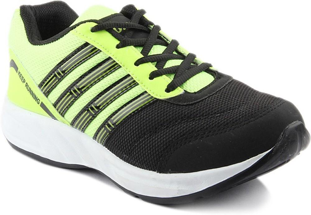DK Derby Kohinoor Green Running Shoes