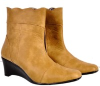 Madames BOOT-105 Boots Beige