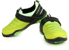 Liberty Champ-04-Green Running Shoes