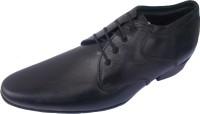 Port Men's Black Slip On Faux Leather Formal Shoes Black