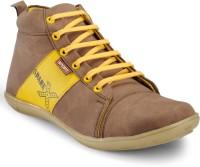 Zentaa Stylish Boots ZTA-ONLS-076 Boots Beige