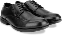 Lee Cooper Men Genuine Leather Formal Shoe Black