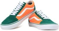 VANS Old Skool Sneakers Green, Orange