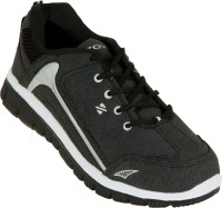 Zovi Black Sport With Grey Accents Running Shoes