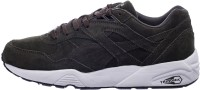 Puma R698 Allover Suede Mid Ankle Sneaker Olive, White