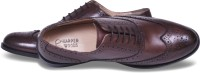 Harper Woods Calssic Wing Tip Oxfords Brown Lace Up Shoes