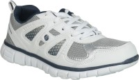 Action Women Sports Shoes Ls-44-White-Navy Running Shoes
