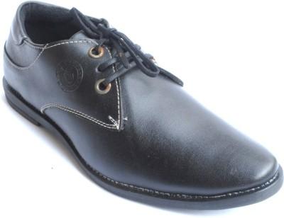 PFC 6028blk Lace Up Shoes