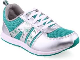 Xpert Liza 3 White Green Running Shoes