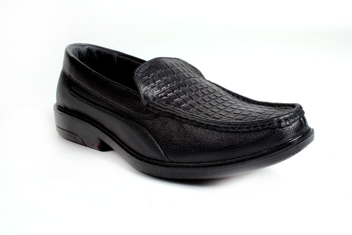 Dolphin Miles Genuine Leather Derby Slip On