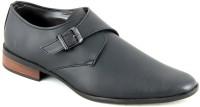 Faces By Devils Acalia Black Monk Strap Shoes