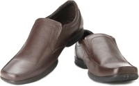 Lee Cooper LC2128 Slip On Shoes Brown