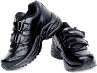 TOUCHWOOD KIDS UNISEX SCHOLAR BLACK SCHOOL SHOE Running Shoes Black