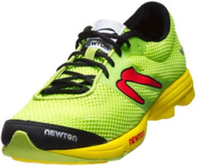 Newton Distance Elite Mens Shoes Green Red
