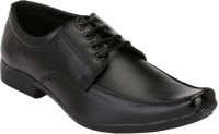 Anshul Fashion Mens Black Formal Lace-up Shoes Lace Up